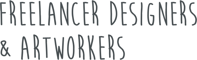Freelancer Designers & Artworkers