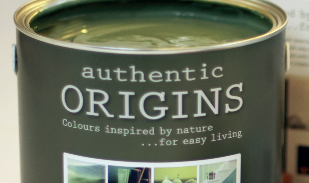 Dulux Authentic Origins tin