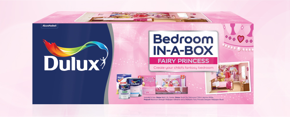 Dulux Bedroom in a Box - Fairy Princess