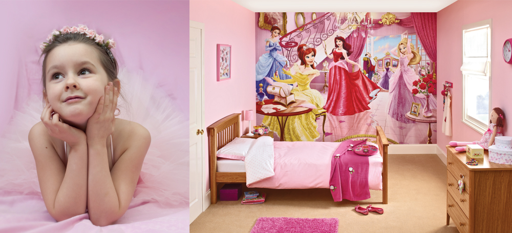 Dulux Bedroom in a Box - Fairy Princess feature