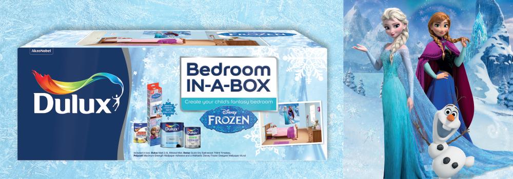 Dulux Bedroom in a Box - Frozen