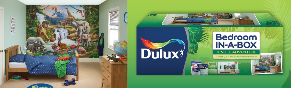 Dulux Bedroom in a Box - Jungle Adventure