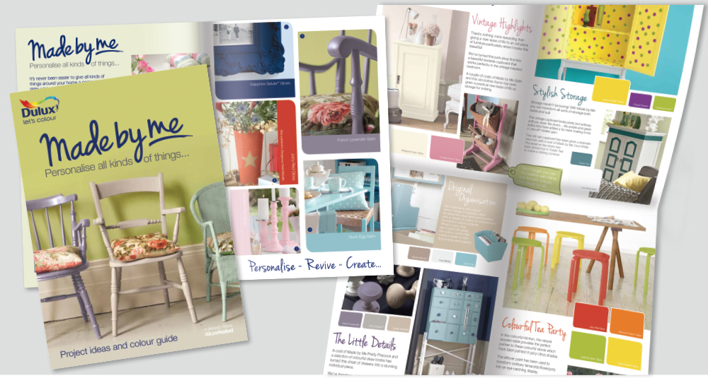 Dulux Made by Me brochure