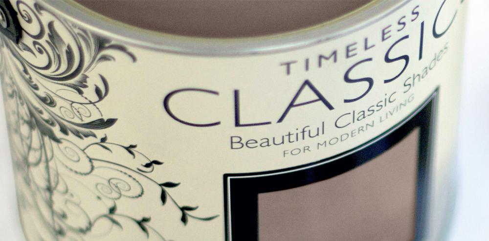 Dulux Timeless Classics tin