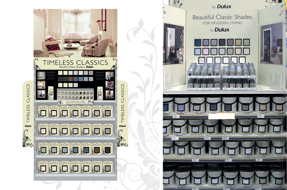 Dulux Timeless Classics PoS