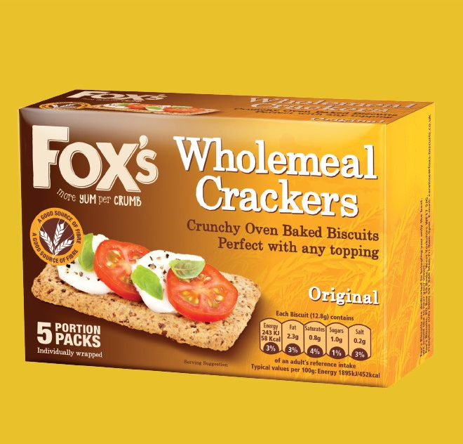 Fox's Wholemeal Crackers