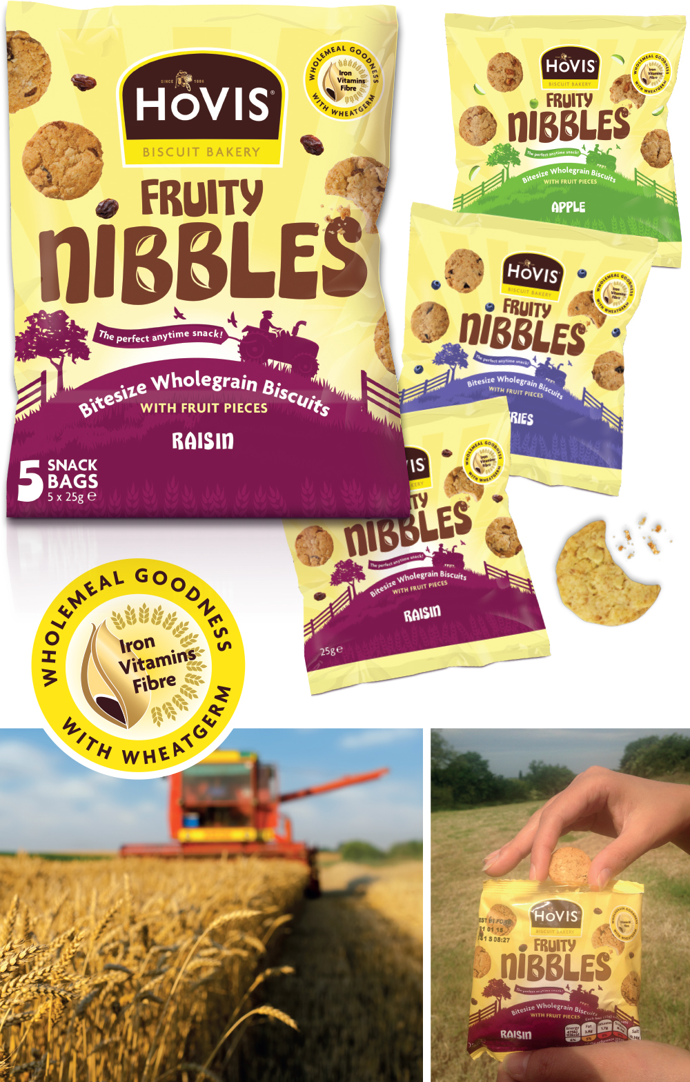 Hovis Fruity Nibbles