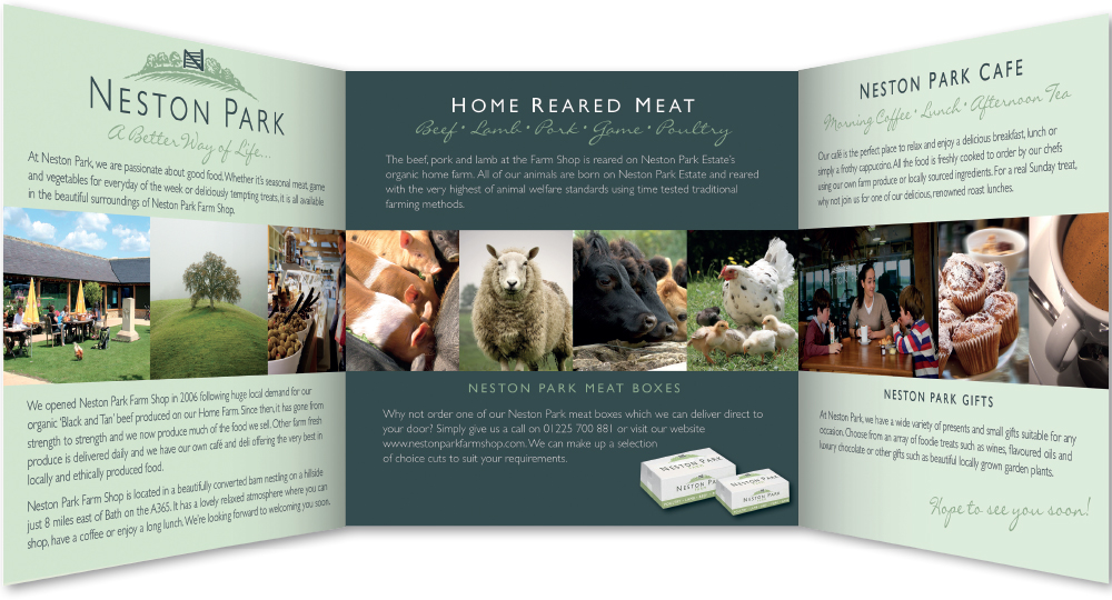 Neston Park Farm Shop Brochure
