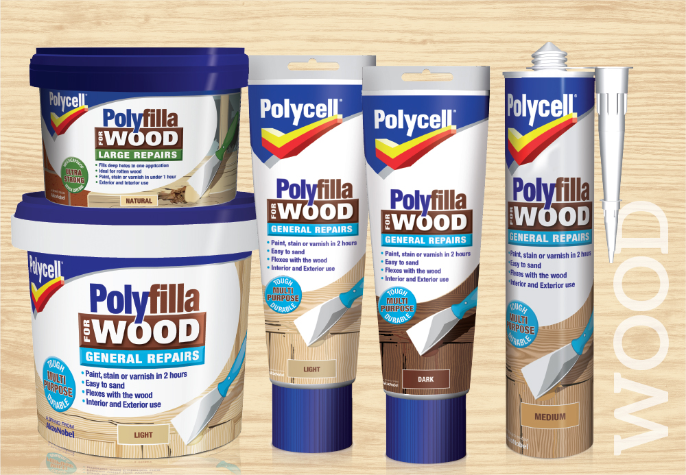 Polycell wood