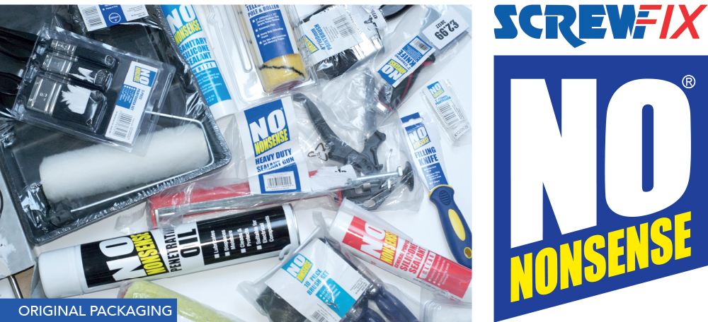 Screwfix No Nonsense Products