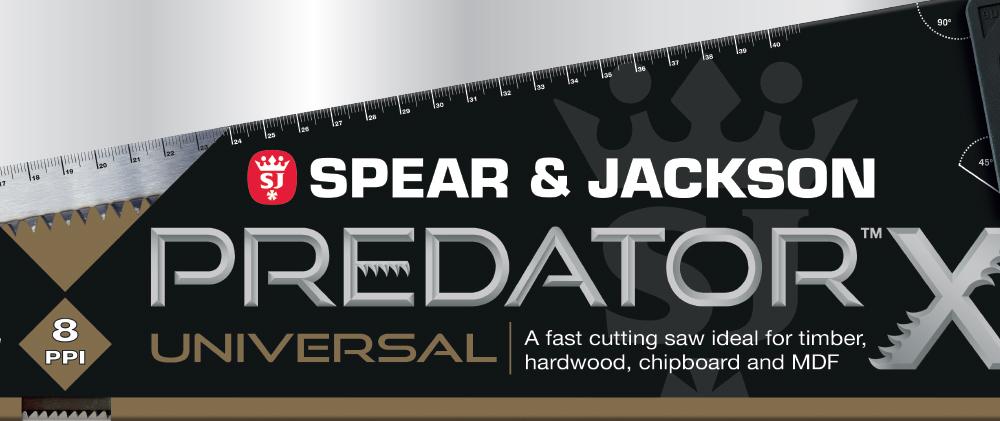 Spear & Jackson Predator logo