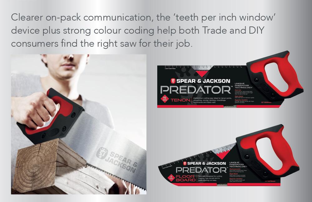 Spear & Jackson Predator details