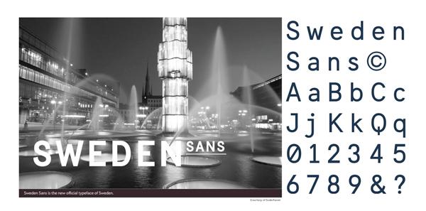 Sweden font