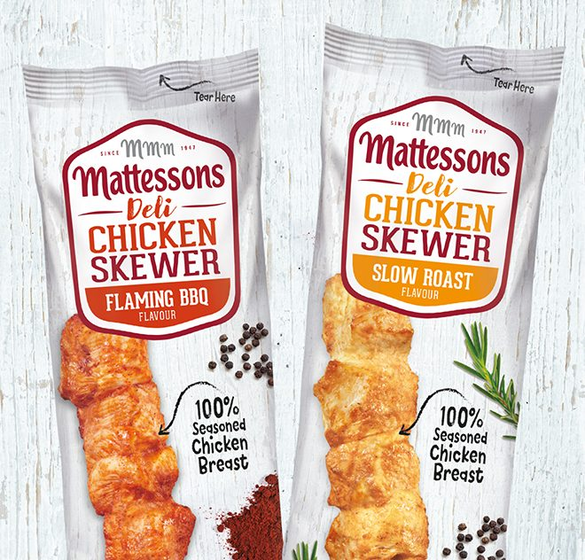Mattesons Chicken Skewers